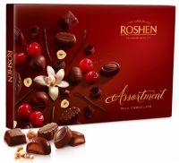 Цукерки Assortment Milk chocolate 145 г