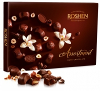 Цукерки Assortment Dark chocolate 154 г
